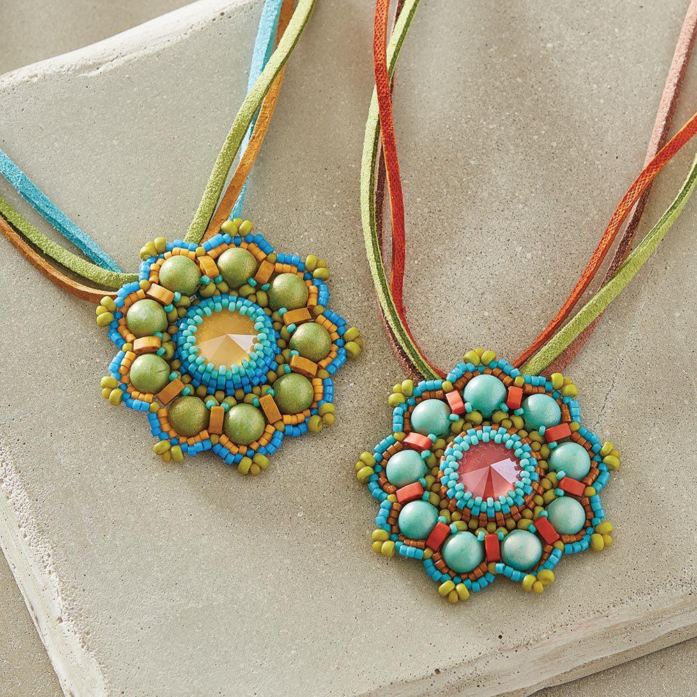 holiday beaded ornaments shaped beads