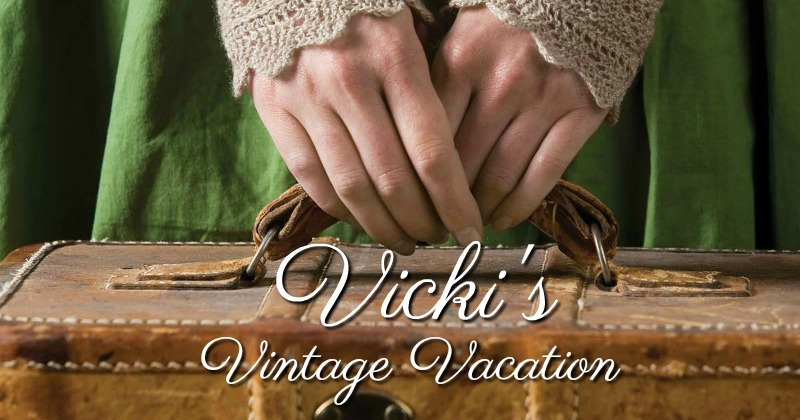 Vicki's Vintage Vacation: A Turn of the Sock Heel