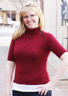 Knitting Gallery - Victoria Yoke Pullover Toni