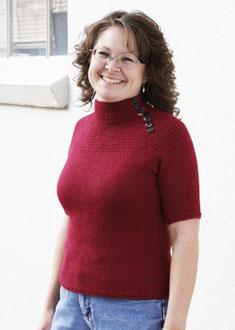 Knitting Gallery - Victoria Yoke Pullover Debbie