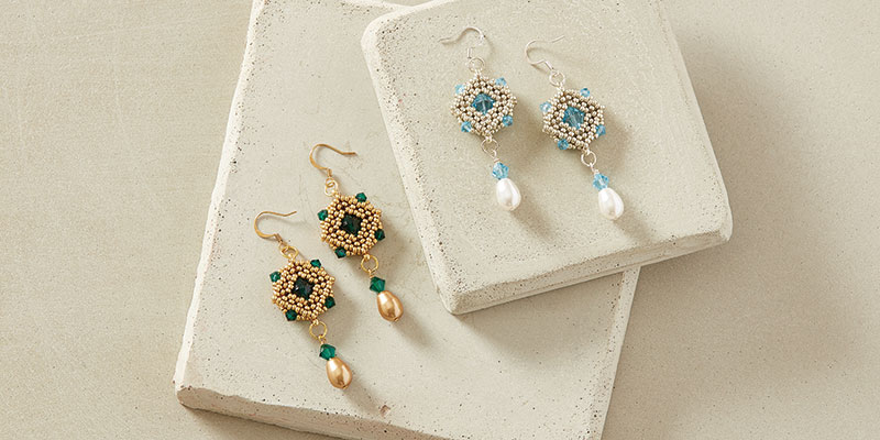 Victoria Earrings by Cathy Andrews