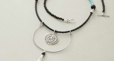 fast and fabulous Viking Wayfarer necklace