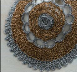 Detail of A Vintage Purse to Crochet by Daniela Nii