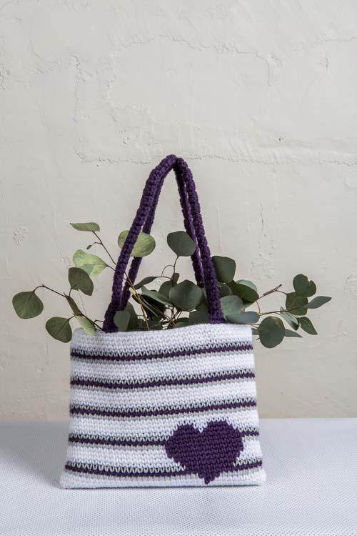 Violaceous Tote Crochet Pattern