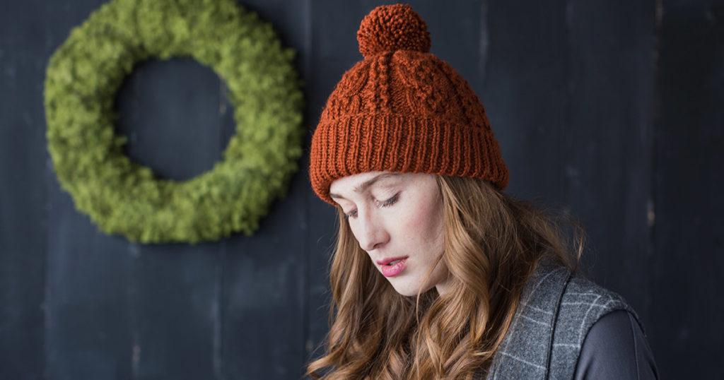<em>Knits Gifts</em> 2018: Woodstove Hat