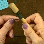 Nancy Shroyer explains how to measure wraps per an inch.