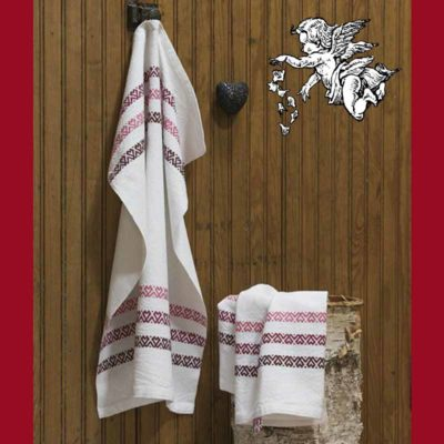 Baltic Hearts towels