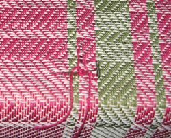 Repairing a warp thread