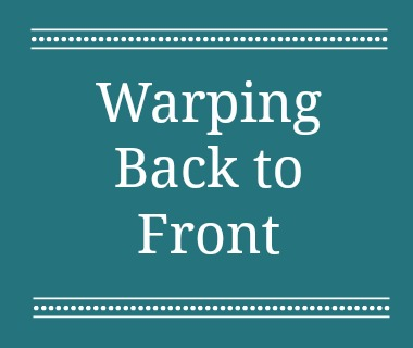 It's important to know how to warp a loom all three ways, so you're always ready for any project or materials you might be using.