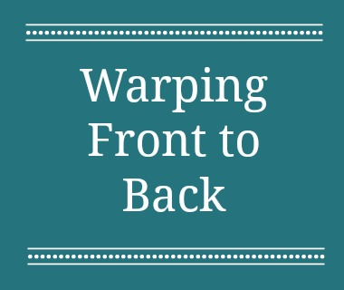 Learn how to warp a loom front to back with this tutorial.