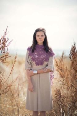 Water Lily Shawl Crochet Pattern