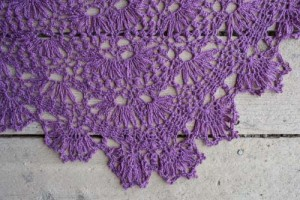 Water Lily Shawl Edge