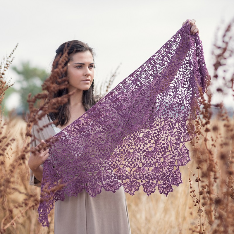 Water Lily Shawl