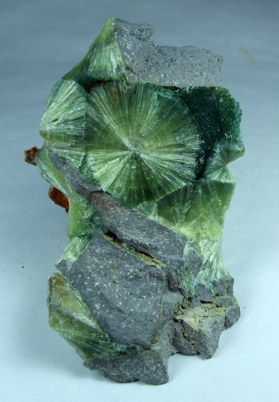 Wavellite specimen from Arkansas, 7.5 cm; courtesy and photo: J.S. White