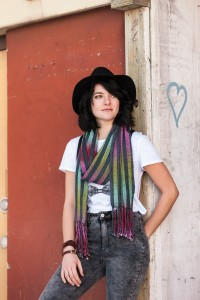 Woven Pools Scarf by Gladys We