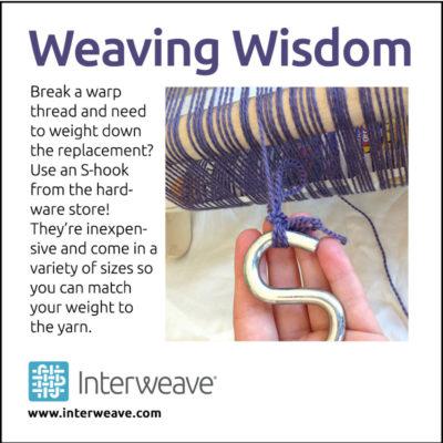 weaving wisdom s-hook