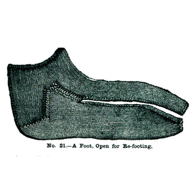 Weldon's sock