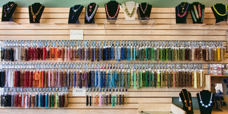 Join Bead Weaving Designer Kim West in Her Bead Store