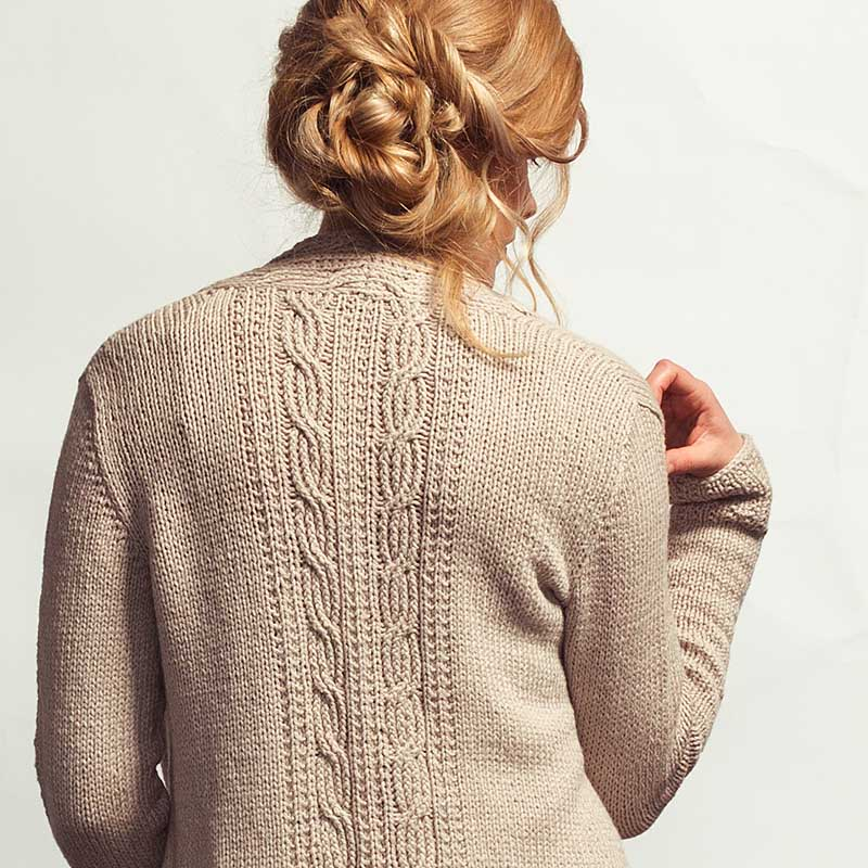 White Smoke Cardigan
