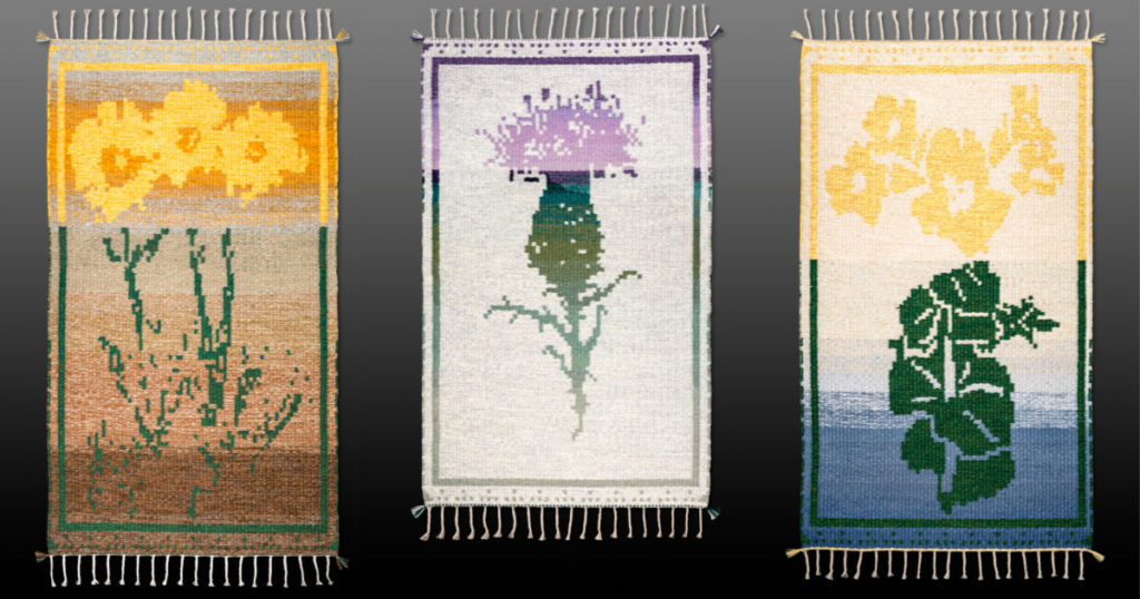 Botanical Weaving and Woven Wildflowers