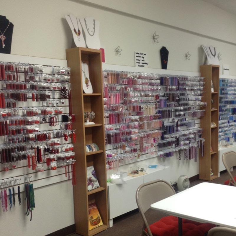 Shae Wilhite in the Studio - Her Store Sweet Beads