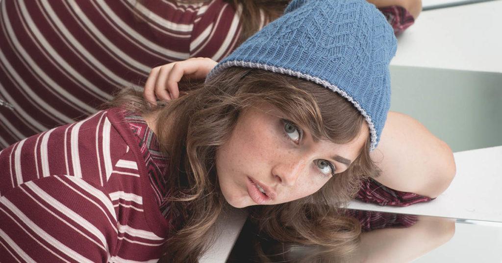 <em>knitscene</em> Winter 2018: Willow Winds Hat