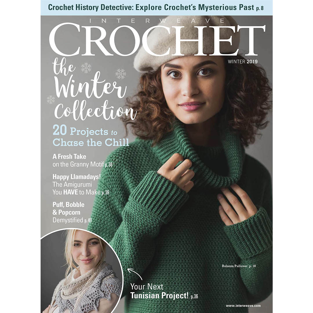 2019 Is Here: Interweave Crochet Winter 2019 Is Here!