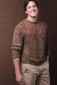 Woodcutter Pullover Crochet Sweater