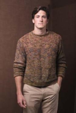 Woodcutter Pullover Crochet Pattern