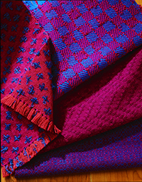 Sharon Alderman's Wool Swatch Collection