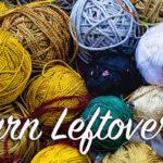 Yarn Leftovers: Wall Hanging
