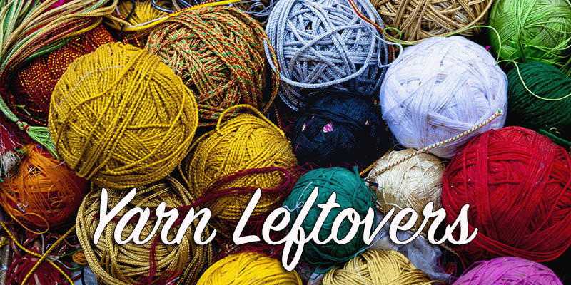 Yarn Leftovers: Make a Swatch Bowl