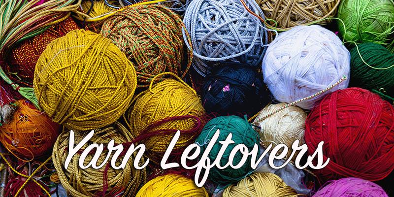 Yarn Leftovers: Yarn Cats