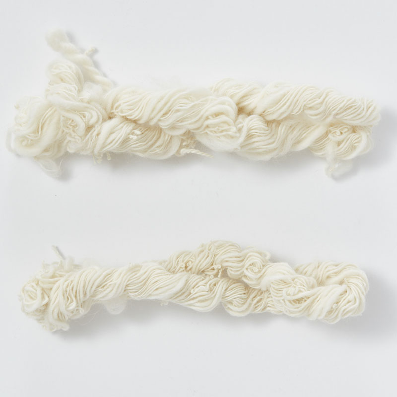 Change Your Whorl, Change Your Yarn. 2 skeins of hand spun yarn