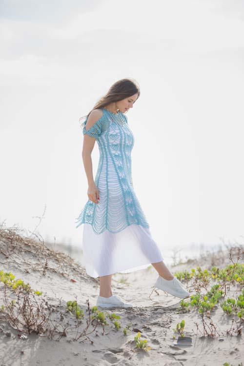 Zephyr Dress at Beach