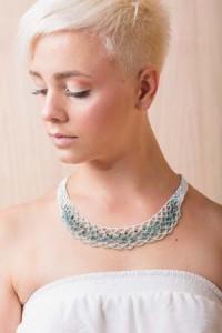 Zephyr Crochet Necklace