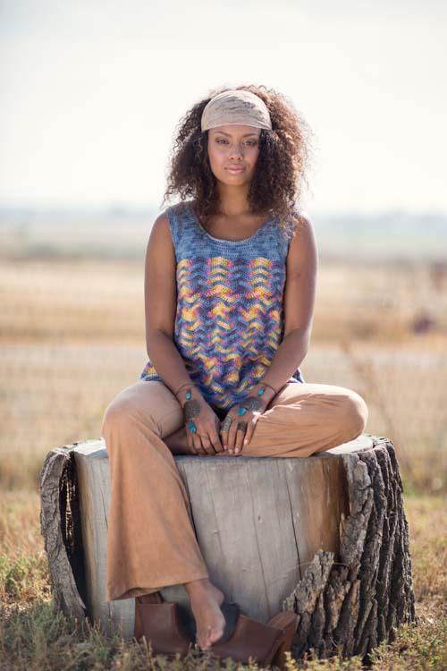 ZigZag Tank Top Crochet Pattern