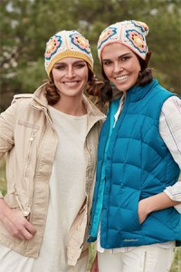 Zinnia Cap and Slouch Hat