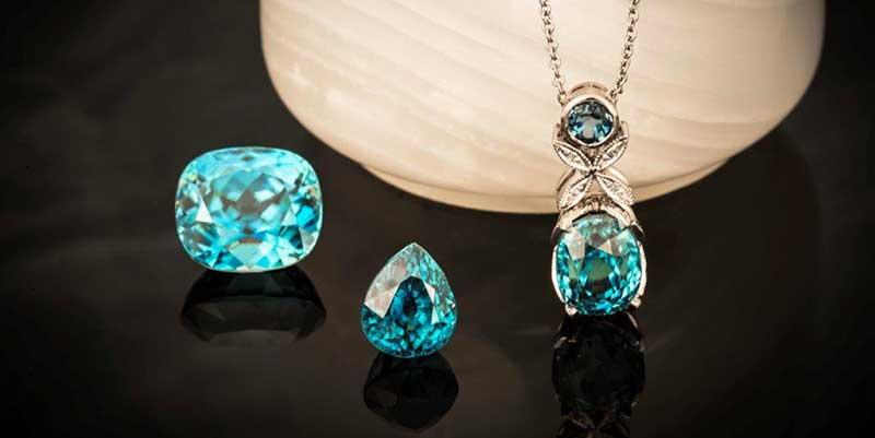 Gemstones and Birthstones: Blue Zircon — A December Alternative for Turquoise