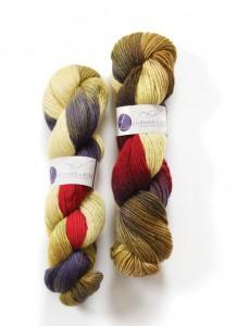 Lorna's Laces Haystack yarn in Zombie BBQ