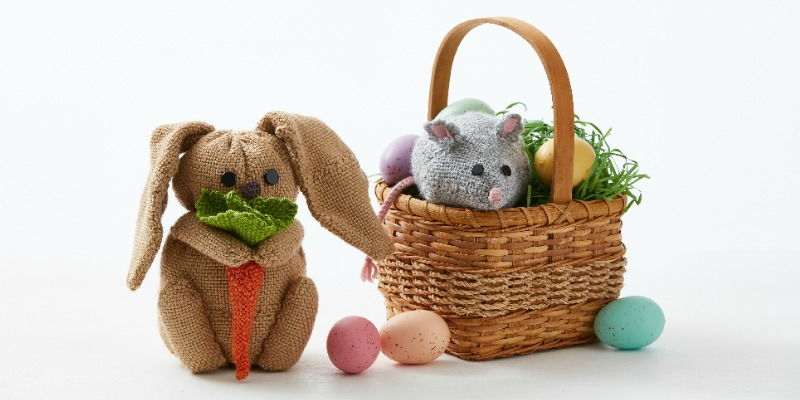 Weave a Pin Loom Bunny for Your Easter Basket