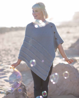 Beachcomber Poncho by Heather Zoppetti