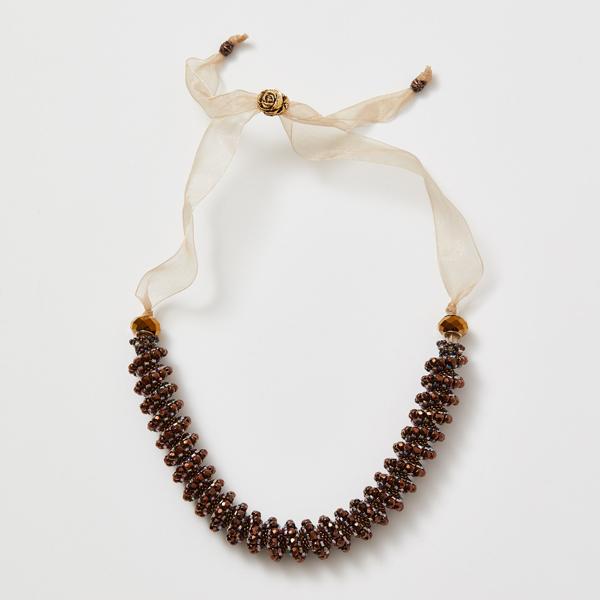 Ombré Cellini Necklace: Bronze Colorway