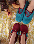 A Family of Slippers Crochet Pattern