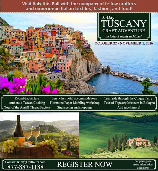 ad for tuscany