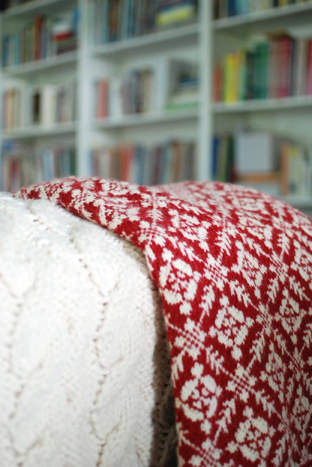 Fair Isle Knitting Tips : Tips tricks for choosing colors a fair isle pattern