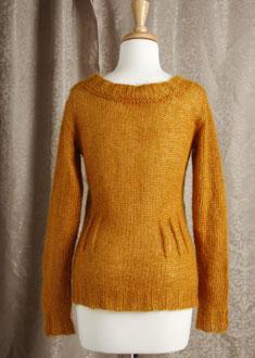 Knitting Gallery - Afterthought Darts Cardi  Bertha