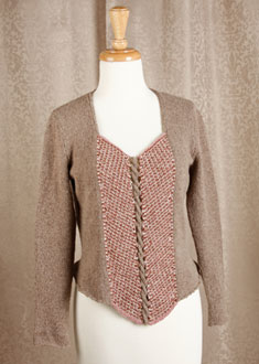Knitting Gallery - Ahlstrom Bodice Bertha