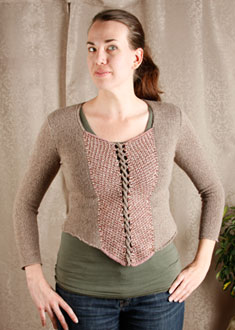 Knitting Gallery - Ahlstrom Bodice Erin