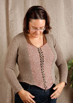 Knitting Gallery - Ahlstrom Bodice Sandi